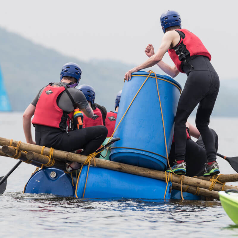 Raft Building & Water Races